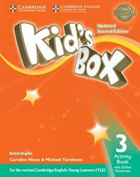 Papel Kid'S Box Updated Second Ed. 3 Activity Book