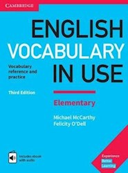 Papel English Vocabulary In Use (Third Edition) Elementary With Key