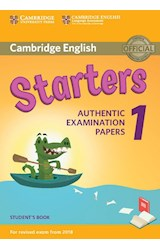 Papel Cambridge English Starters Authentic Examination Papers Student's Book 1