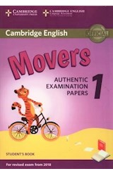 Papel Cambridge English Movers Authentic Examination Papers 1 Student's Book