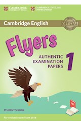 Papel Cambridge English Flyers Authentic Examination Papers 1 Student's Book