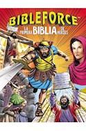 Papel BIBLEFORCE LA PRIMERA BIBLIA DE HEROES[(INCLUYE AUDIO APP EN INGLES] (CARTONE)