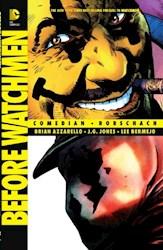 Papel Before Watchmen: Comedian/Rorschach