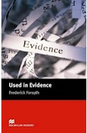 Papel USED IN EVIDENCE (MACMILLAN READERS LEVEL 5)