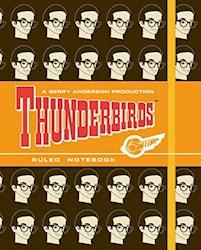 Libro Anotador Comic Thunderbirds Brains 12,7 X 15,2 Rayado