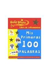 Papel MIS PRIMERAS 100 PALABRAS GOLD STARS LIBRO DE CALCOMANIAS