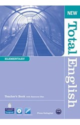 Papel NEW TOTAL ENGLISH ELEMENTARY TEACHER'S BOOK
