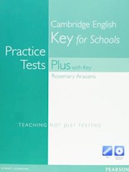 Papel Practice Tests Plus Ket For Schools With Key With Multi-Rom And Audio Cd Pack