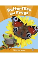 Papel BUTTERFLIES AND FROGS (PENGUINS KIDS LEVEL 3)