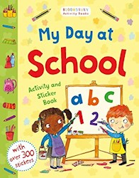 Papel My Day At School - Activity And Sticker Book