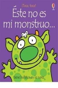 Papel Este No Es Mi Monstruo...