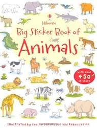Papel Big Sticker Book Of Animals