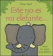 Papel Este No Es Mi Elefante...