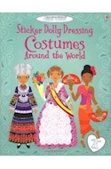 Papel COSTUMES AROUND THE WORLD STICKER DOLLY DRESING (USBORNE ACTIVITIES)