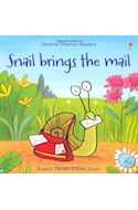 Papel SNAIL BRINGS THE MAIL (USBORNE PHONICS READERS)