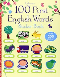 Papel 100 First English Words Sticker Book