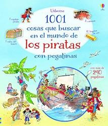 Papel 1001 Cosas Que Buscar En El Mundo De Los Piratas Con Pegatinas