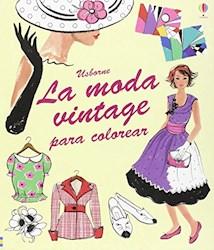 Papel Moda Vintage Para Colorear, La