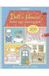 Papel Doll's House: Sticker and Colouring Book