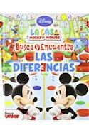Papel BUSCA Y ENCUENTRA LAS DIFERENCIAS (LA CASA DE MICKEY MO  USE) (ENCUADERNADO)