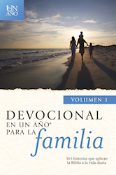 Libro Devocional En Un Año Para La Familia Volumen 1