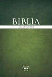 Libro Santa Biblia De Estudio Reina Valera Revisada Rvr