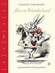 Papel Alice In Wonderland - Classic Coloring