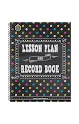 Papel Chalkboard Brights Lesson Plan and Record Book