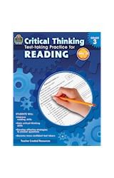 Papel Critical Thinking: Test-Taking Practice for Reading (Grade 3)