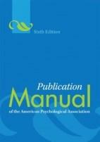 Papel Publication Manual Of The American Psychological Association (Sale)