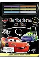 Papel CARS DIVERTIDA PIZARRA CON TIZAS (CARTONE)