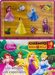 Libro Princesas  Los Amigos Son Especiales  Cuento Busca Y Encaja