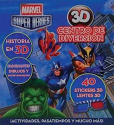 Papel Marvel Super Heroes 3D