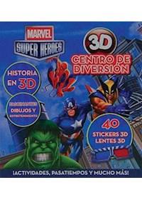 Papel Marvel Super Heroes - Centro De Diversion 3D