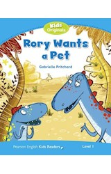Papel Rory Wants a Pet (Pearson Kids Level 1)