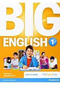 Papel Big English 1 (British) - Pupil'S Book + Myenglish
