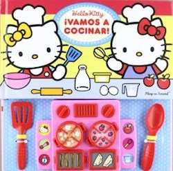 Papel Hello Kitty Vamos A Cocinar