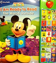 Papel Mickey I Am Ready To Read The World Outside