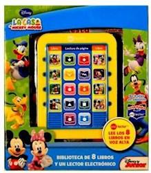 Papel Casa De Mickey Mouse, La Biblioteca C/ Lector Electronico