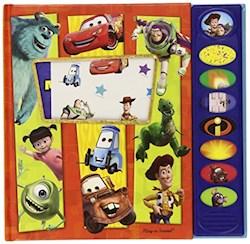 Papel Disney Pixar - Caja Der 3 Libros Para Leer, Buscar Y Escuchar