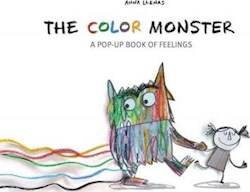 Papel The Color Monster: A Pop-Up Book Of Feelings