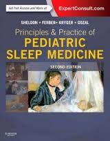 Papel Principles And Practice Of Pediatric Sleep Medicine