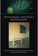 E-book Profesorado, docencia e investigación.