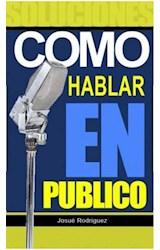 E-book Cómo Hablar en Público