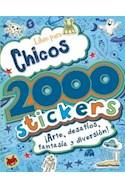 Papel LIBRO PARA CHICOS (2000 STICKERS) ARTE DESAFIOS FANTASI  A Y DIVERSION