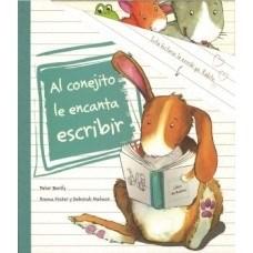 Papel Al Conejito Le Encanta Escribir