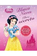 Papel BLANCA NIEVES LIBRO SECRETO GUARDA TUS PRECIADOS SECRET  OS BAJO LLAVE (DISNEY PRINCESA)
