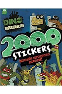 Papel 2000 STICKERS DIVERSION SUPERPOTENTE ASEGURADA (DINO SUPERSAUIOS) (RUSTICO)