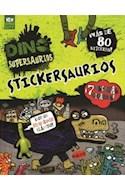 Papel DINO SUPERSAURIOS (STICKERSAURIOS)