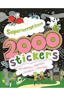 Papel SUPERTERRORIFICOS 2000 STICKERS ESTRAMBOTICOS ESPANTOSOS ATERRADORES Y DIVERTIDOS (RUSTICO)